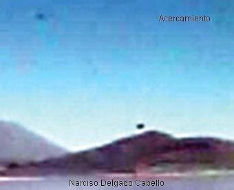 UFO Near Ubinas Volcano B