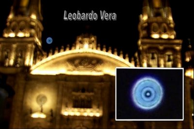 UFO Over Cathedral of Guadalajara, Jalisco