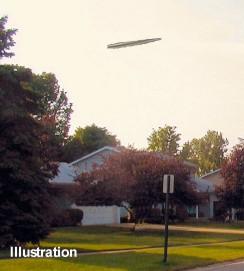 UFO Over Czestochowa