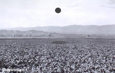 UFO Over Denison 1878