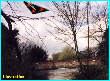 UFO Over Hellesdon