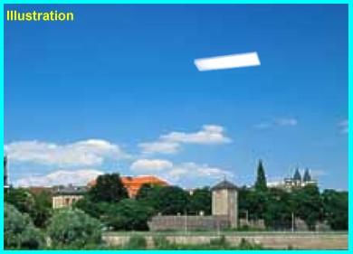 UFO Over Magdeburg, Saxony-Annhalt, Germany