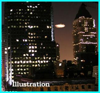 UFO Over NYC