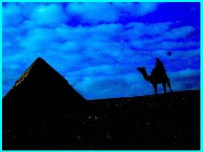 UFO Over Pyramid 3-30-06 (C)