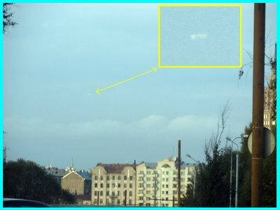 UFO Over Riga (A) Enhanced