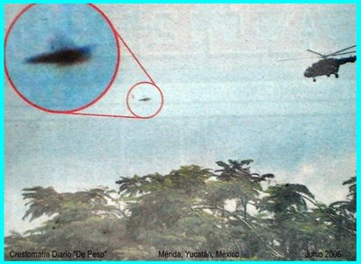 UFO Over Salvador Alvarado
