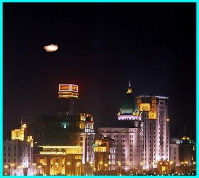 UFO Over Shangai