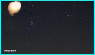 UFO Over Stratford