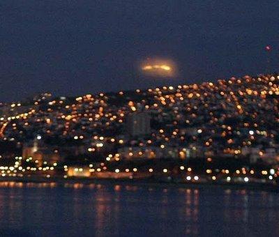 UFO Over Valparaiso