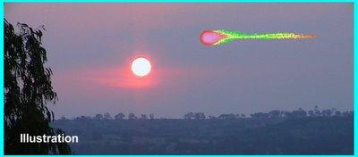 UFO Over WA