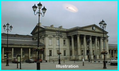 UFO Triangle Over Huddersfield