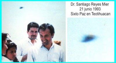 UFO at Teotihuacan 6-21-1992