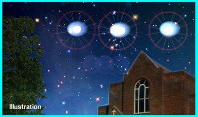 UFOs OVER SANTA ROSA