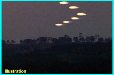 UFOs Over Longwalk, Istead Rise