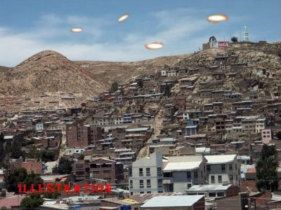 UFOs Over Oruro