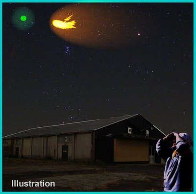 UFOs Over Tenerife