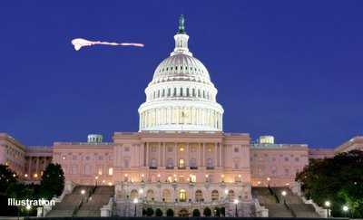 UFOs Over Washington D.C.