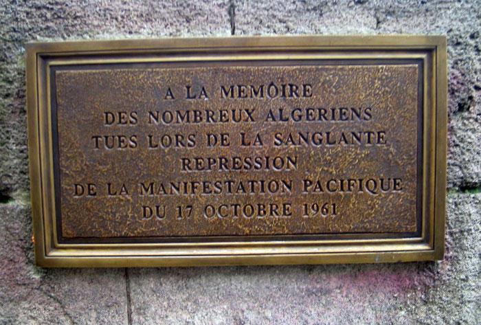Bildresultat för mordet på algerier i paris 1961