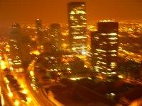 Vista de Bogotá desde la discoteca Cha Cha