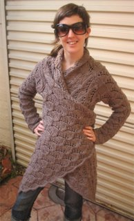 Knitting Pattern For Yoga Wrap : Jorth: Yoga Wrap