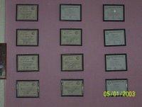 Pared con Diplomas Regionales 2