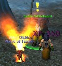 Diablo Spouting Fire