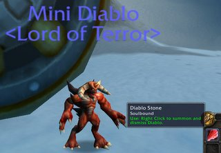 Diablo and his Stone