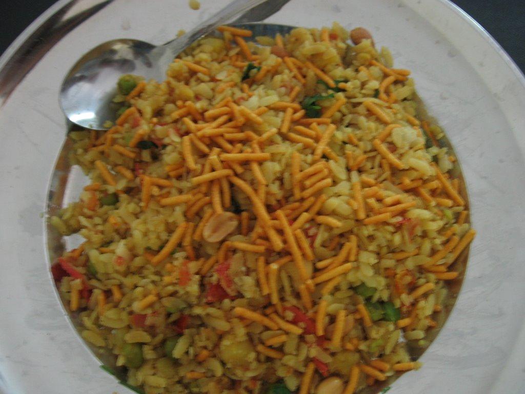 Indian Recipes by Priya: Batata Poha