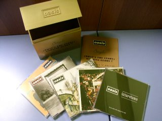 What s the story morning glory singles cigarette box set 1996