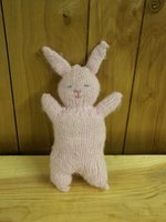 Pink knit bunny