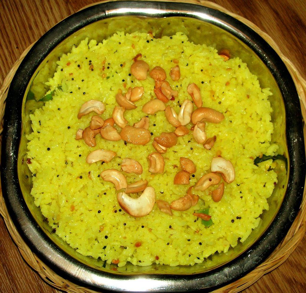 Paajaka Recipes: Lemon Rice