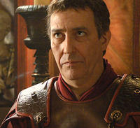 Julius Caesar, played by Ciaran Hinds, a Scott.