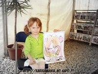 caricatura feira do livro