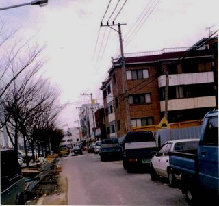 Narrow Streets in Korea