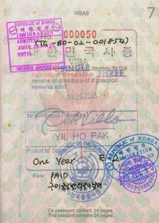 E-2 Visa January 2003