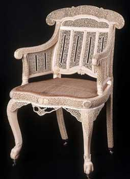 Myanmar Royal Ivory Chair