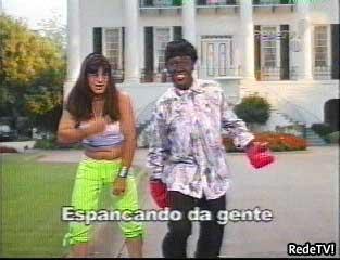 Mano Quietinho bate na mulher: este quadro, com um humor ao estilo Casseta e Planeta, deu picos de audiência para a RedeTV.