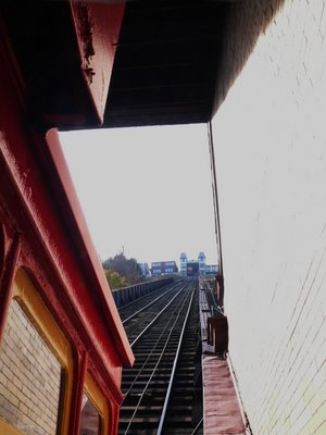 the Duquesne Incline, on a hazy lazy November Pittsburgh Sunday