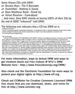 DRM flyer back