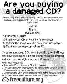 DRM flyer front