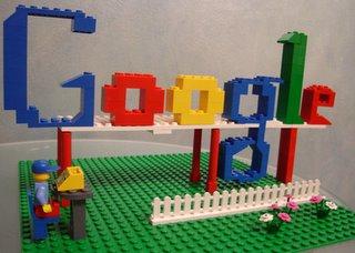 Google Logo by Lego