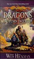 cover of Dragons of Autumn Twilight