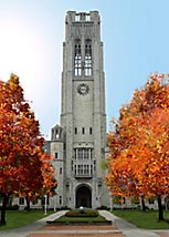 University Hall at the University of Toledo