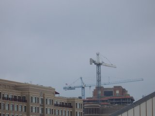 Construction crane in Alexandria, VA