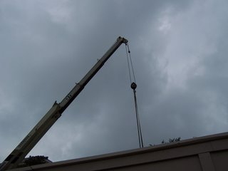 Construction crane in Washington, DC