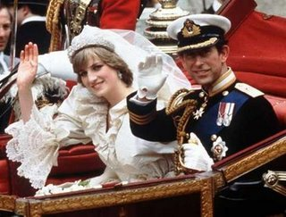 The Prince and Princess of Wales return from their wedding at St Paul's Cathedral