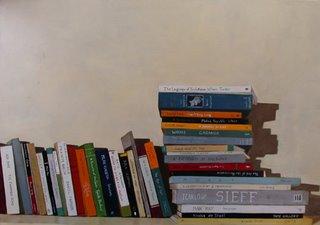 Stack of random books