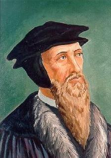 Protestant theologian John Calvin
