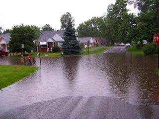 Toledo streets flooded