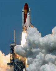 Discovery shuttle STS-121